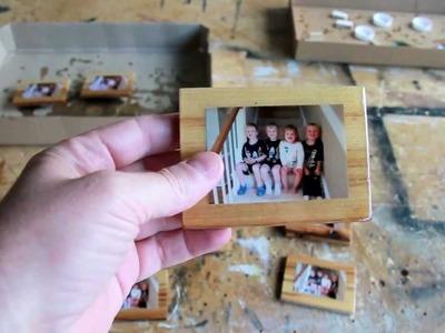 Refridgerator Photo Magnet DIY