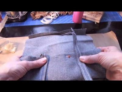 Scrap Trash Bag for Crafting or Sewing