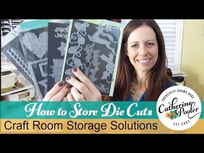 Storage Solutions for Die cutting with Catherine Pooler