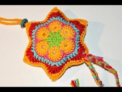 Advent Calendar * December 13 * Crochet Star