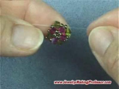 Bead Weaving - Romanesque Earrings