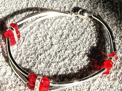 Beading Ideas - Make a Bracelet using tubes