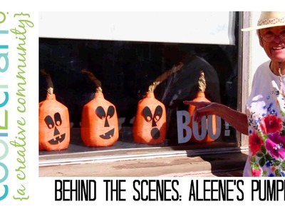 Behind the Scenes: Aleene's Pumpkin Surprise