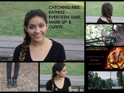 Cheap Halloween Costume DIY: Katniss Everdeen , Hair, Make-up and Outfit! (The Hunger Games)
