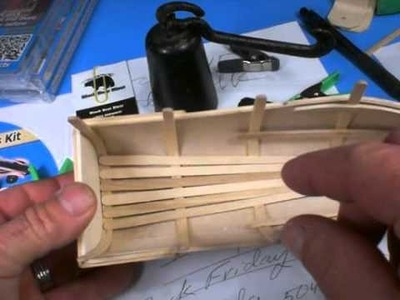 Craft Stick Treehouse @ Sequim Black Bear Diner