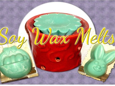 DIY Candle Melts and Tarts-Soy Wax-Gift Idea or Start a Business!