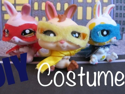 DIY Costume: How To Make A LPS Superhero Costume