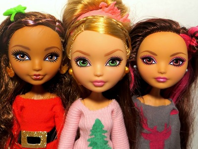 DIY Doll Holiday Sweater Tutorial