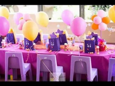 DIY Dora the explorer party decorations ideas