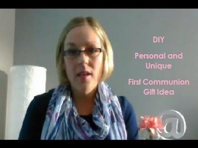 DIY First Communion Gift Idea