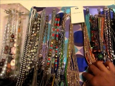 "DIY Projects: ""Dress into a Skirt"" & ""Jewelry Display"""