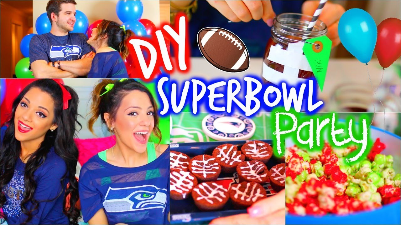 DIY Super Bowl Party | Decor, Treats, Outfits + Essentials!