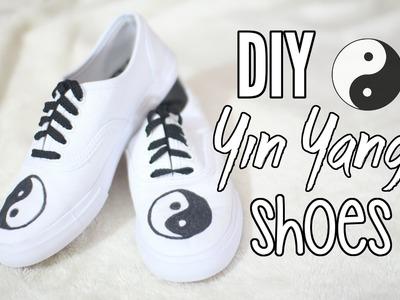 DIY | Yin Yang Canvas Shoes