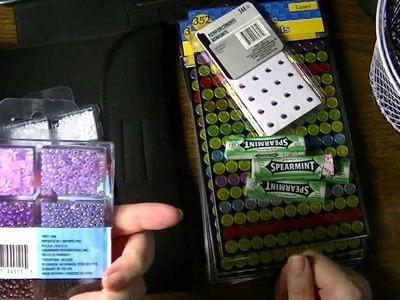 Dollar Tree Haul - Organization, Filofax & Craft Supplies