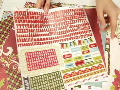 Echo Park Paper Co. - Seasons Greetings Scrapbook Collection