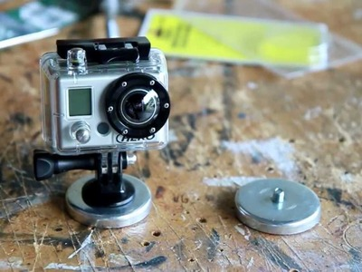 GoPro Hero Magnet Mount DIY part 2