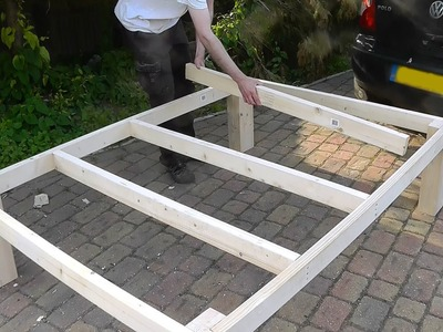 Heavy duty DIY bed