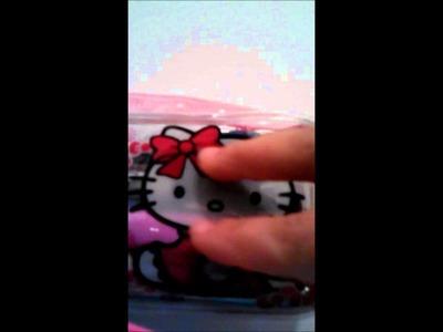 HELLO KITTY CROCHET HEAD ,CABEZA DE KITTY