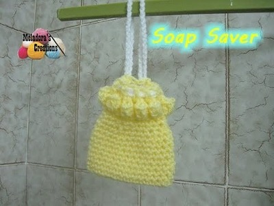 How to Crochet a Soap Saver - Crocheted Bathroom Projects