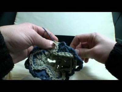 How To Crochet Catherine Wheel Throw 3