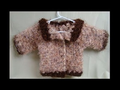 How To Crochet Toddler Sweater 1 of 4