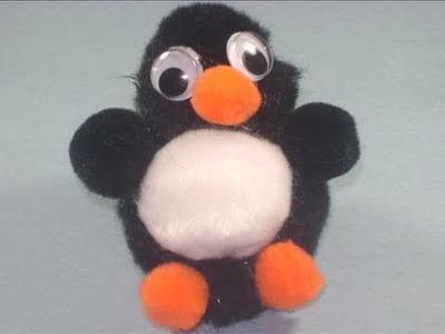 How to make a pompom penguin - EP