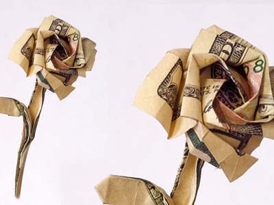 How to make an Rose from a single Dollar