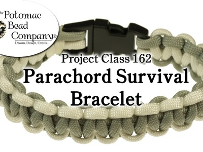 How to Make Paracord Survival Bracelet (Basic Cobra).wmv