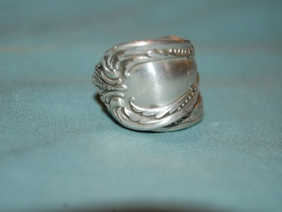 How to: spoon ring band style DIY
