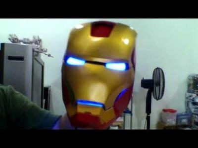 IRON MAN HELMET (DIY)make from pepakura