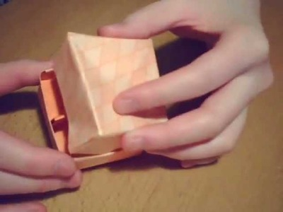 Masu box divider Origami