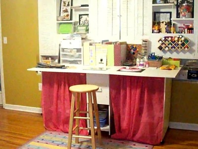 My Small Scrapbook Space Makeover