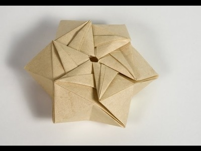 Origami - How to fold a StarPuff Box