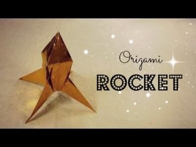 Origami Rocket (Mark Vigo) instructions