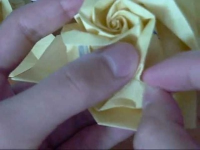 Origami Rose 1: Finishing Touches (Part 2) (Reuploaded)