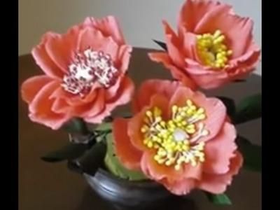 Paper flower - Wild Roses
