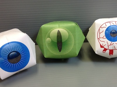 Print Your Own Origami Eyeballs for Halloween