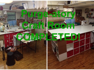 Purge-atory Craft Room: COMPLETED