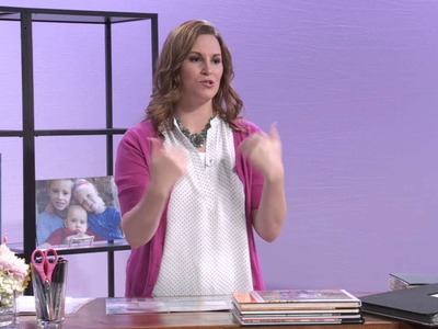 Scrapbooking with Project Life with Becky Higgins