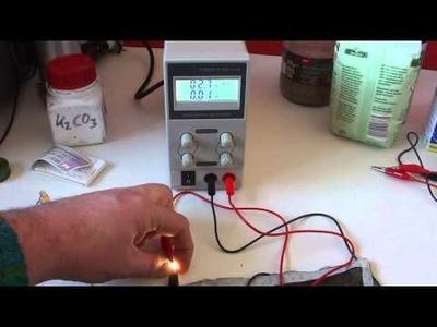 1 Watt LED Light bulb testing