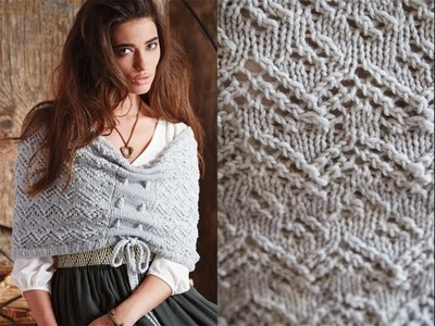 #17 Capelet, Vogue Knitting Fall 2014