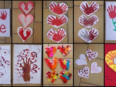 9 VALENTINE'S DAY CRAFTS FOR TODDLERS!