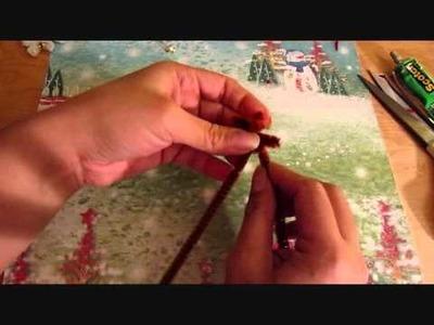 Christmas Pipe Cleaner Teddies