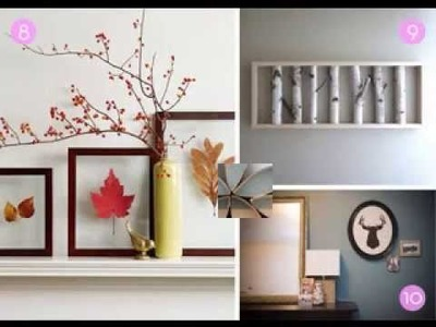 Creative DIY wall art projects making ideas