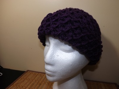 Crochet  Very Easy Adult Hat