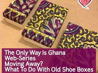 DIY: Recycle your Old Shoe Boxes into Storage.Jewellery.Gift Boxes