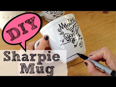 DIY Sharpie Mug | by Michele Baratta