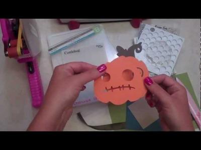 Halloween Crafts Episode 288 - Hey Pumpkin! (Simply Scarecrows)