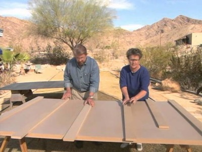How to Build a Table for Craft Projects