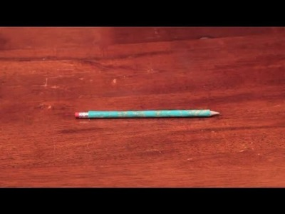 How to Decorate Pencils : Arts & Crafts
